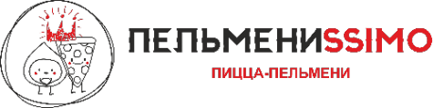 Логотип компании Пельмениssimo